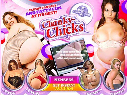 Chunky Chicks 69 - Fleshy Fantasy And Fatty Fun At Its Best!