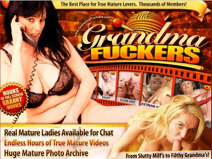 Grandma Fuckers - The Best Place for True Mature Lovers!