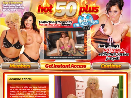 Hot 50 Plus - Older Ladies Who Have Been Fucked Since 1969!