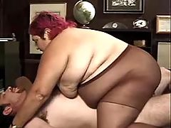 Nanny milks breast of amateur BBW