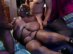 Lusty mature jumps on fresh dick