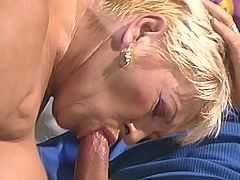Two mature sluts fuck two guys